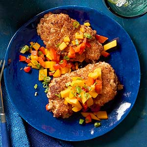 Coconut-Crusted Pork Tenderloin - PALEO