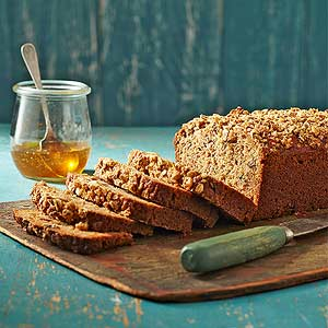 Honey-Zucchini Bread