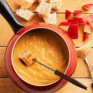 Cider-Cheese Fondue | Midwest Living