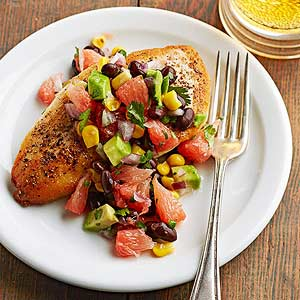 Grapefruit-Avocado Salsa
