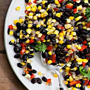 Sweet Corn and Black Bean Succotash