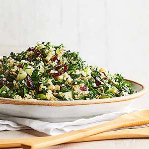 Winter Tabbouleh with Fennel and Cranberries