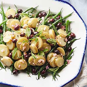 Mediterranean Potato and Green Bean Salad