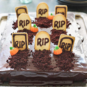 Cemetery Cake
