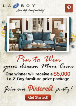 La-Z-Boy Pin it to Win it Mom Cave Contest