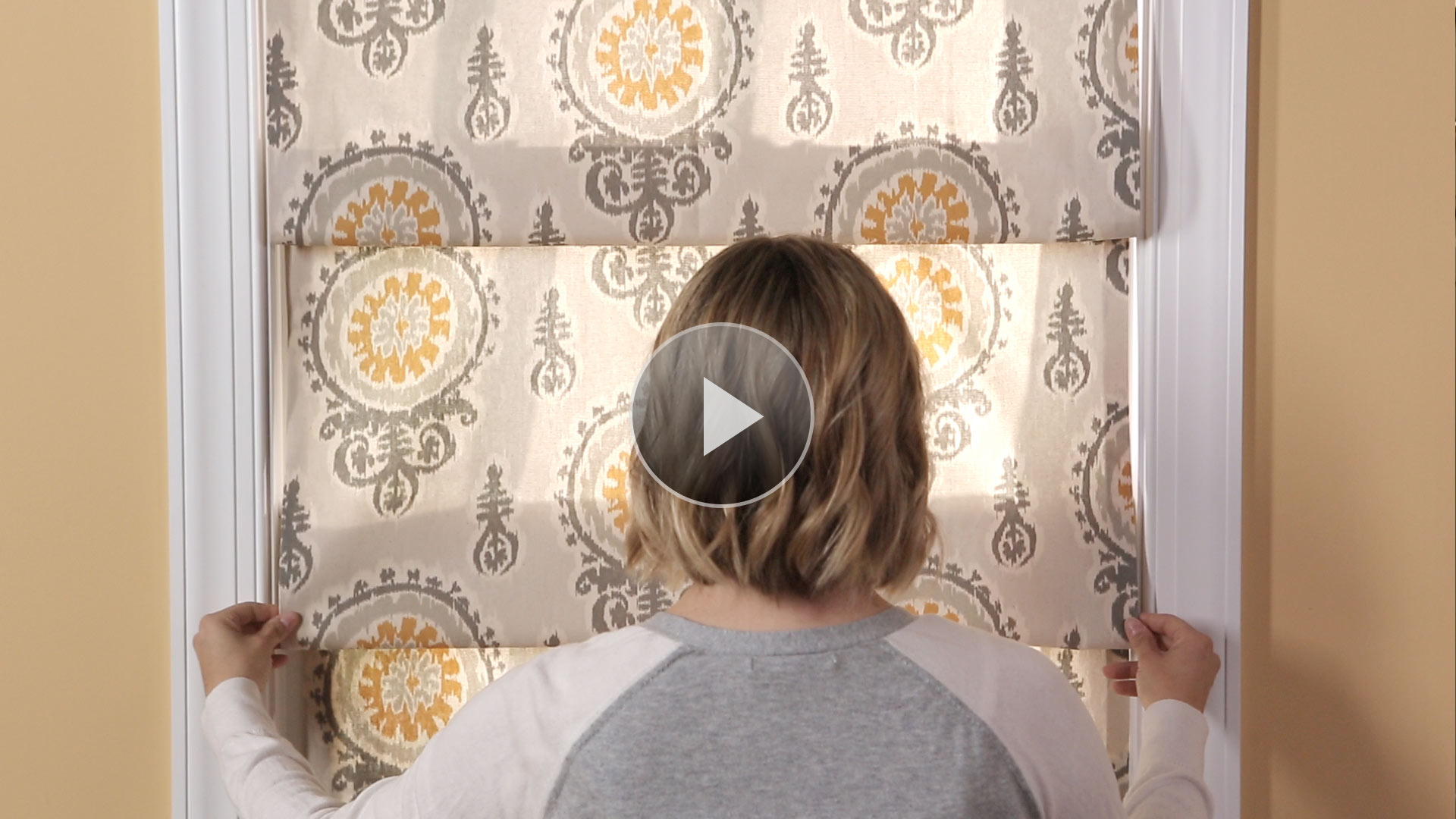 The easiest window treatment ever Simple window treatments