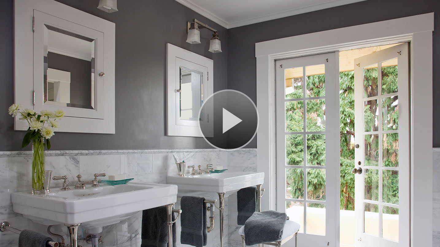 Our favorite bathroom paint colors for Popular bathroom decor