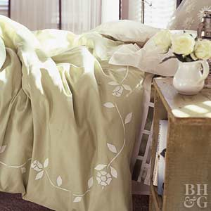 Painting Bed Linens
