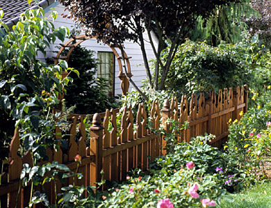 Build a Bird-Pattern Fence