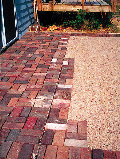 create a brick patio - Patio Brick Designs