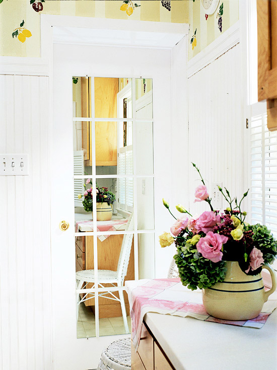 Faux French Door