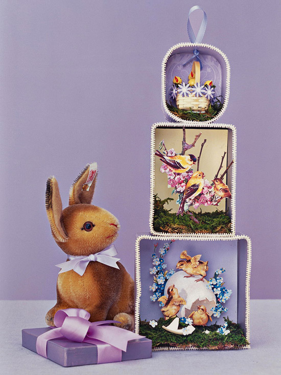 Vintage Easter Decorations from Better Homes and Gardens