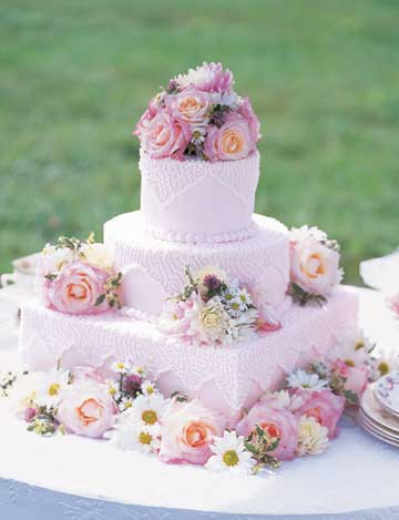 Sentimental Reason Wedding Cake