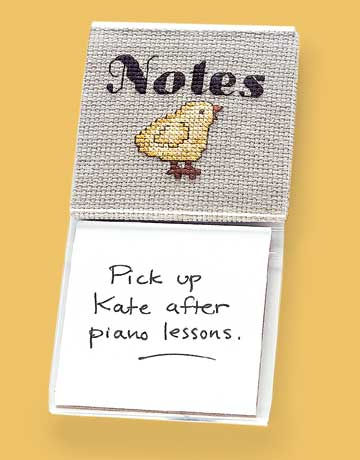 Chick Note Holder