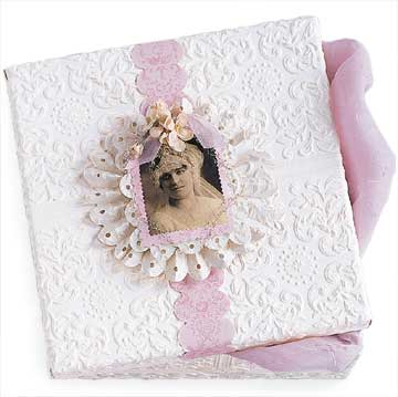 Vintage-Photo Keepsake Box