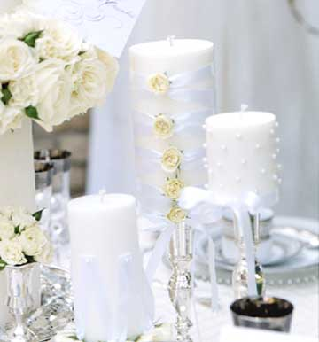 Embellished Candles