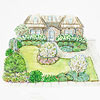 Garden Plan for Your Whole Front Yard