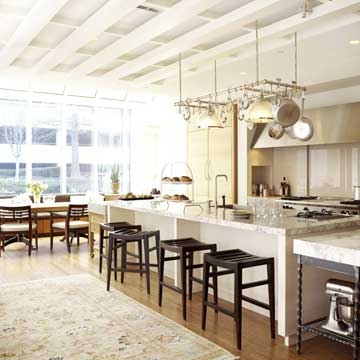 multifunction island - Homes And Gardens Kitchens