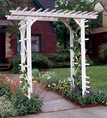 Traditional Entry Arbor