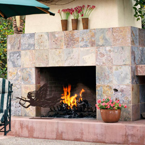 Three Stylish Patio Hearths