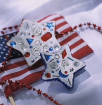 Patriotic Paperweights