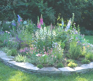 Building a Flowerbed Without Digging