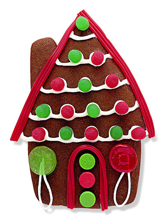 10 Delicious Gingerbread Houses
