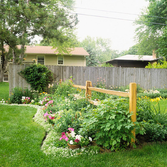 Landscaping Edging Plants : Garden and landscaping edging ideas