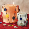 Cute-as-a-Button Candle