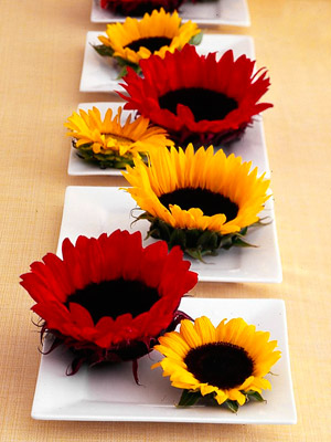 Super-Simple Sunflower Centerpiece