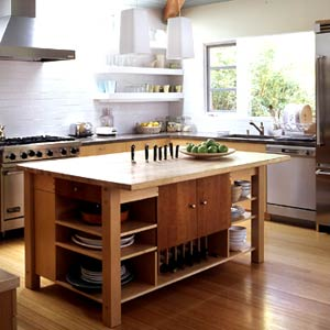 wood floors in kitchen with wood cabinets. Matching flooring to cabinetry  oak with maple creates a consistent unified look Trouble is it can be hard make an exact Wood Basics Tips for Flooring Countertops and Cabinets
