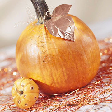 Copper-Leafed Pumpkin