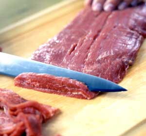 Slicing Flank Steak