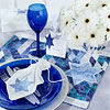 Star of David Place Mat and Napkin