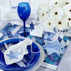 Hanukkah Party Gelt Napkins