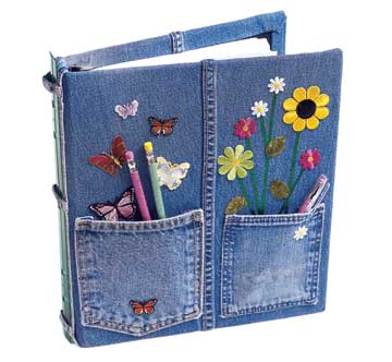 In-Jean-ious 3-Ring Binder