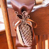 Pinecone Chair Decoration
