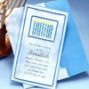 Nine Candles Hanukkah Invitation
