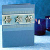 Embossed Stars Hanukkah Card