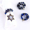 Hanukkah Charm Napkin Rings