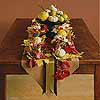 Fall Leaf and Fruit Centerpiece
