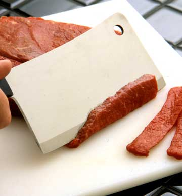 Cutting Meat, Poultry Or Fish