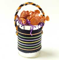 Rubber Band Treat Can