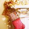 Diamond-Quilted Dazzler Stocking