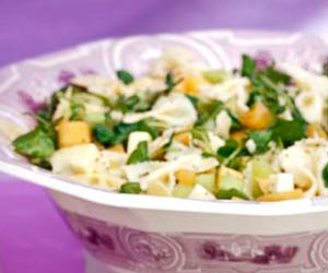 Pasta Salads Hold Beautifully For A Wedding Reception Cheese Melon And Fresh Mint Create Intriguing Flavors That Complement The Rest Of Menu