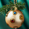 Bejeweled Christmas Tree Ornaments