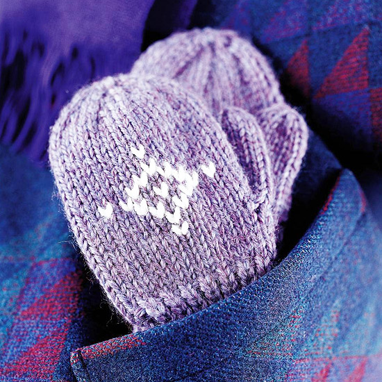 Knit-to-Fit Mittens