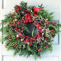 Ribbons and Bows for Christmas Wreaths