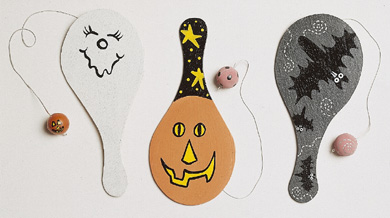 Playful Paddleballs