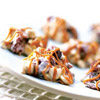 Hazelnut-and-Cherry Caramel Clusters